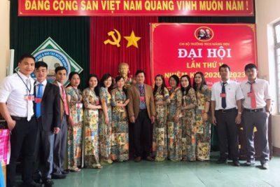 Đại hội Chi bộ Trường Trung học cơ sở Măng Đen lần thứ V – Nhiệm kỳ 2020-2023